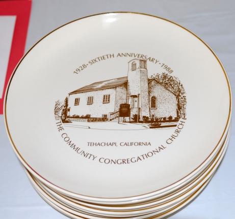 60th Anniversary plates