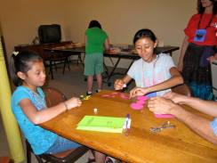 Making Guatemalan toys