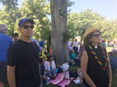 Gay Pride Picnic (Rev Nancy & Steve Bacon)