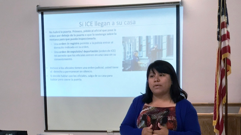 Know Your Rights Training - Rosa Lopez(May 2018) (2)
