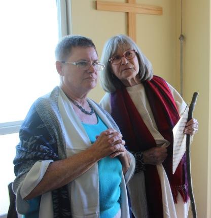 Church Skit - Cheryl Harris & Jan Roberts (March)