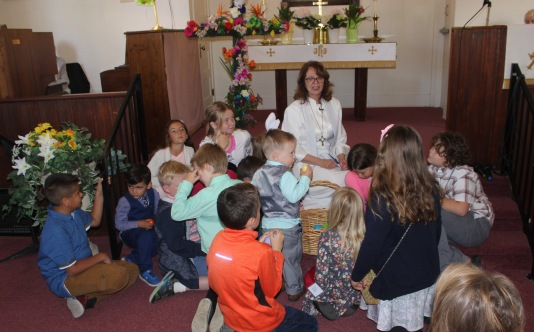 Rev Nancy & children